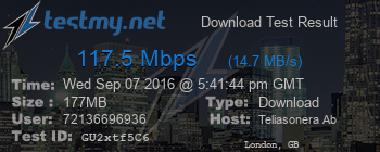 mäta wifi hastighet