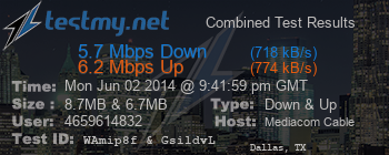 Cable HSI] Slow Download - Fast Upload? - Mediacom
