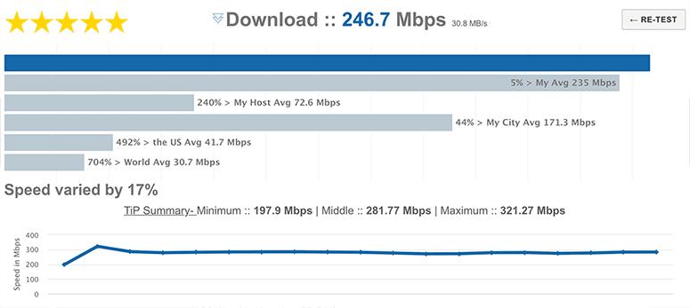 Check internet speed centurylink