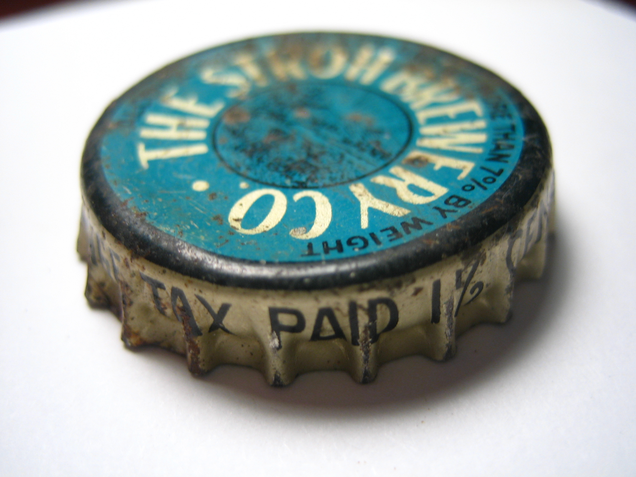 Cork Lined Stroh Beer Cap Find Off Topic Discussion