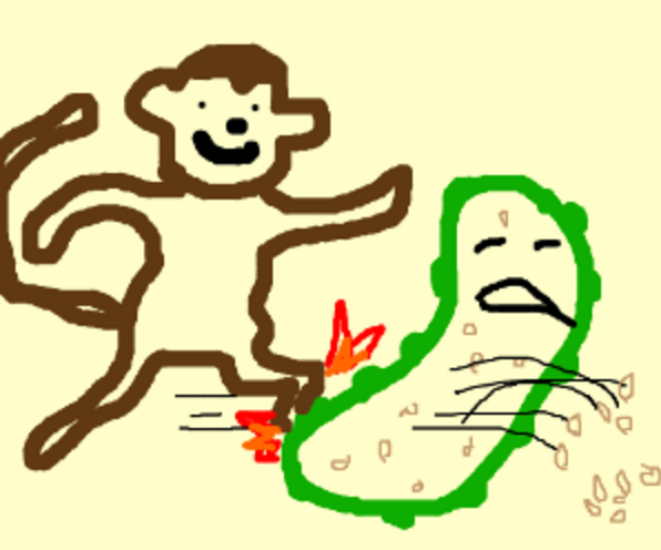 monkey-kickin-pickle-seeds-out.png