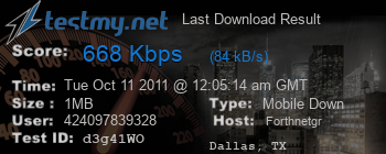Last Download Result for Forthnet.gr