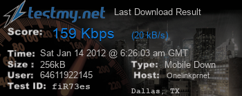 Last Download Result for Onelinkpr.net