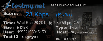 Last Download Result for Skylogicnet.com