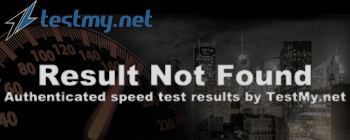 Last Upload Result for Speednet.com